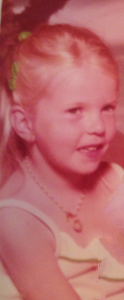 Little blonde me