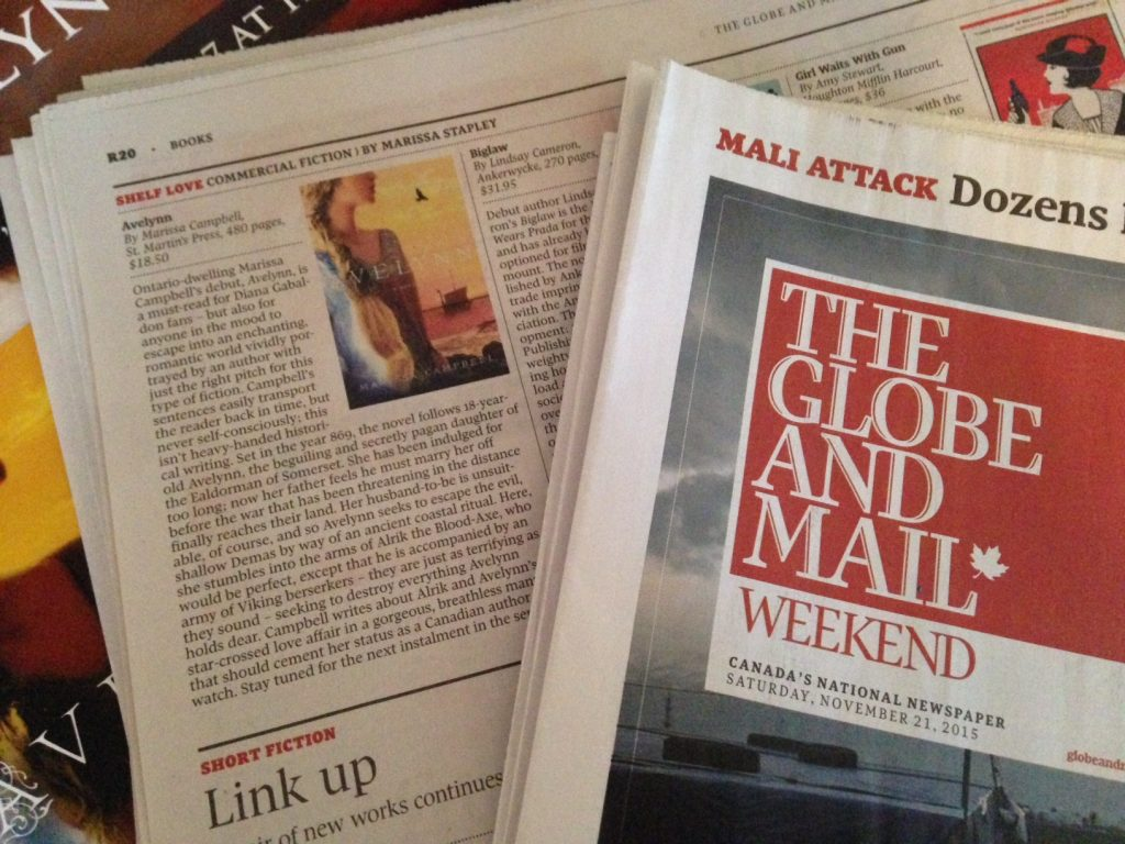 Globe and Mail Avelynn