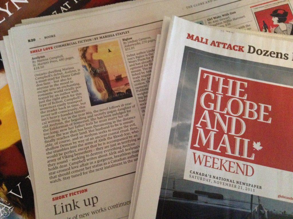 Globe and Mail Avelynn